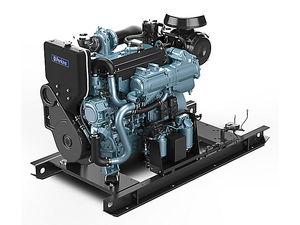 Diesel-Schiffsmotor