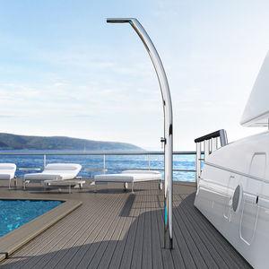 Dusche für Yachten / für das Deck / Edelstahl / für Stege