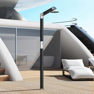 Dusche für Yachten / für das Deck / Edelstahl / Carbon