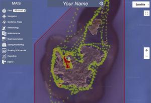 Überwachungssystem für Schiffe