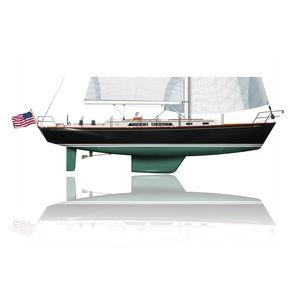 Segel-Yacht / Fahrten / traditionell / mit offenem Heck / 3 Kabinen