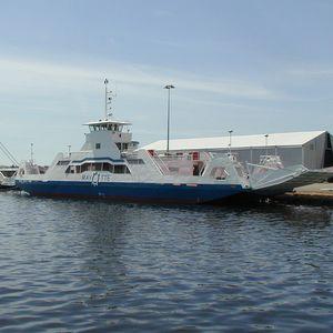 RoPax-Fährschiff