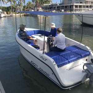 elektrisches Konsolenboot