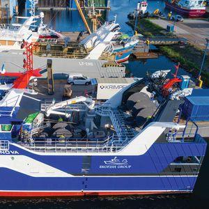 Winde für Fischereischiffe