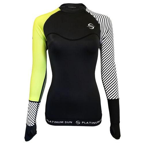 Lycra-Shirt / Langarm / für Damen