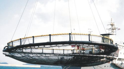 Netz für Aquakultur