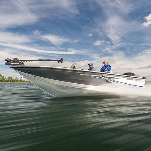 Bay-Boat / Außenbord / Doppelkonsole / Seitenkonsole / Sportfischer