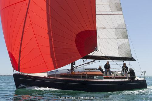Küsten-Fahrten-Segelboot