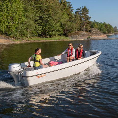 Offenes Boot / Außenbord / Open / Sportfischer / max. 5 Personen
