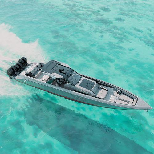 Außenbord-Konsolenboot / Mittelkonsole / Open / Sport