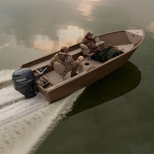Jon-Boat / Außenbord / Sportfischer / max. 4 Personen