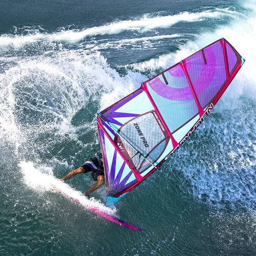 Windsurf-Segel / Wave / 4 Segellatten