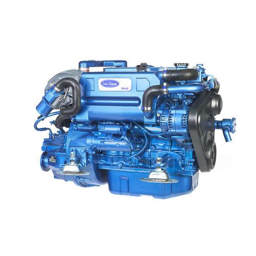 Motor für Berufsboot / Innenbord / Diesel / Turbolader