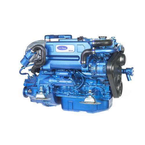 Innenbordmotor / für Berufsboot / Diesel / Turbolader