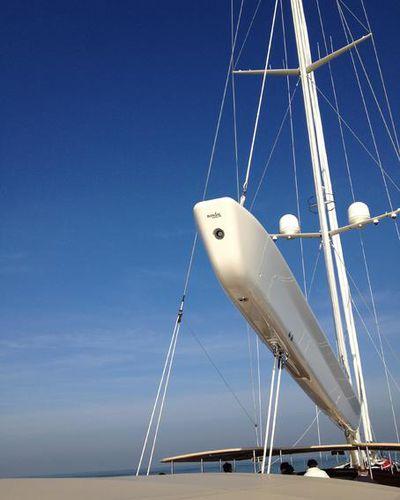 Baum für Segelboote