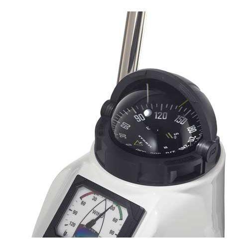 Steuerkompass zur Anwendung auf Booten / Magnet / horizontal / Aufbau