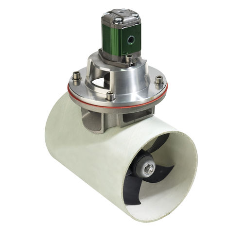 Bugstrahlruder / für Yachten / elektrisch / hydraulisch