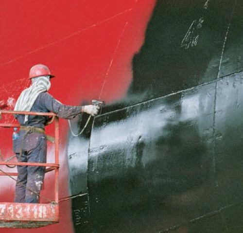 Beschichtung für Berufsboot / für Schiffe / Zweikomponenten