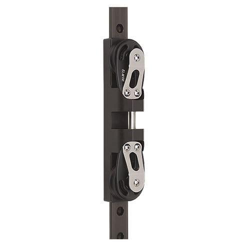 Schlitten für Großsegel / mit doppeltem Vertikalsockel / Kugellager