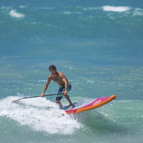 Wave-SUP / aufblasbar / PVC / EVA