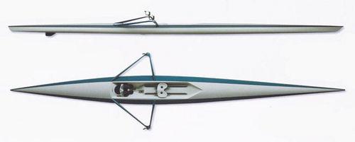 Regatta-Ruderboot / Skiff
