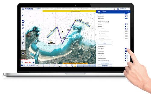 Navigationssoftware / Wetter / AIS / für Boot