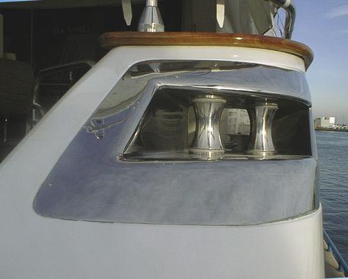 Lippklampe für Yachten