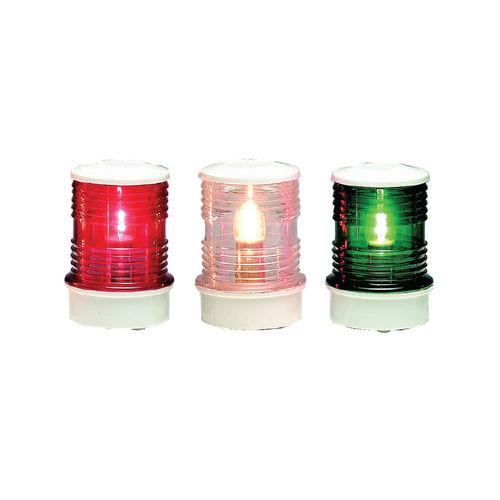 Navigation Leuchte / zur Anwendung auf Booten / Glühlampen / dreifarbig / Heck