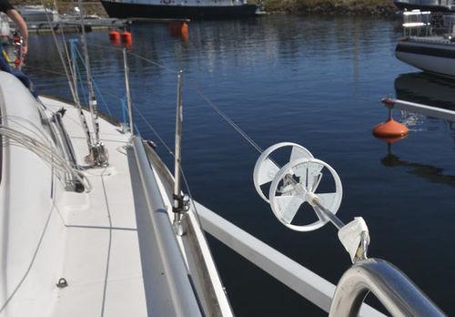 Scheuerschutzrad für Segel