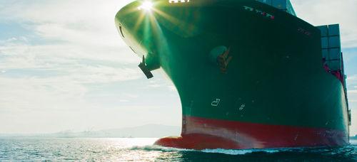 Geschwindigkeitsmesser für Schiffe