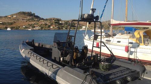 Innenborder-Schlauchboot