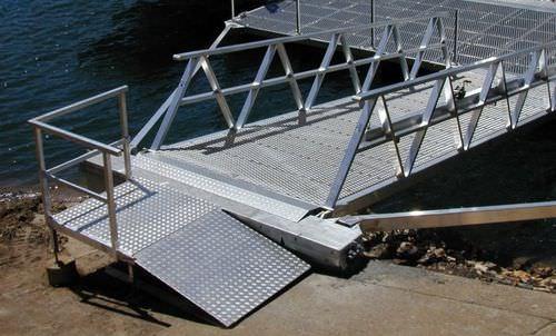 Gangway für Stege