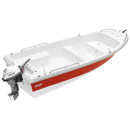 Offenes Boot / Außenbord / Sportfischer / max. 5 Personen