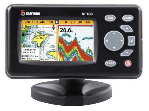 GPS / Kartenplotter / für Boot / Farb