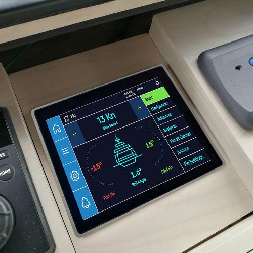 Elektronisches Kontrollsystem für Yachtstabilisator