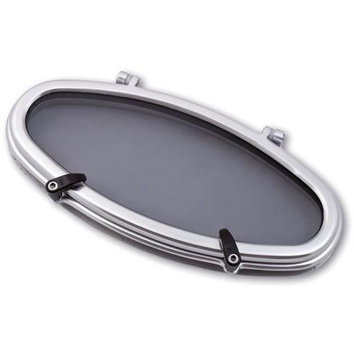 ovales Bullauge / zur Anwendung auf Booten / zum Öffnen / mit abgerundetem Winkel