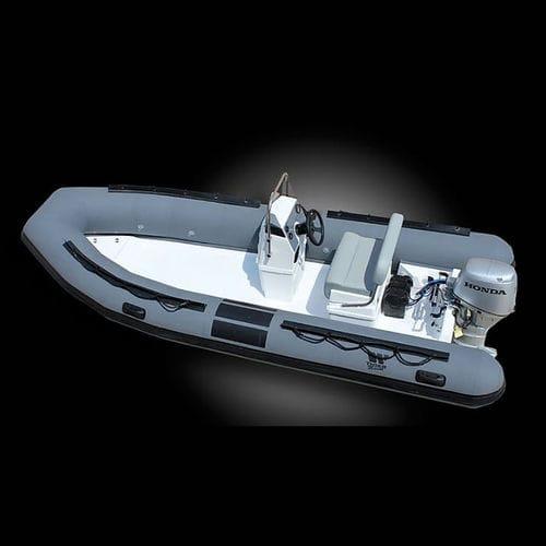 Taucherbasisboot Berufsboot / Außenbord / Festrumpf-Schlauchboot