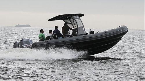 Patrouillenboot Berufsboot / Taucherbasisboot / Außenbord / Festrumpf-Schlauchboot