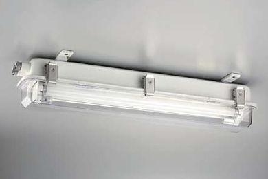 Deckenleuchte für den Außenbereich / für Schiffe / Maschinenraum / fluoreszierend
