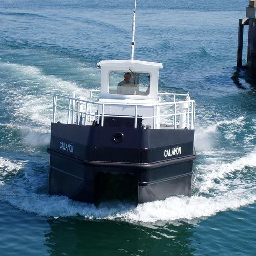 Ölrückführungsboot Berufsboot