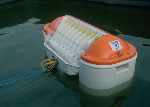 Ölskimmer / oleophilen Materialien / für Stillwasser / für Fluss