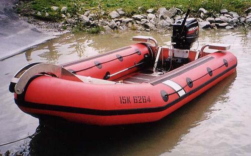 Schlauchboot / max. 10 Personen