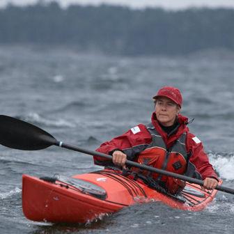 Kajak mit Brücke / steif / See / für Expeditionen