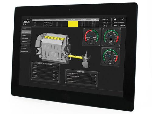 Visualisierungssoftware / für Schiffe / zur Anwendung auf Booten / für Berufsboot