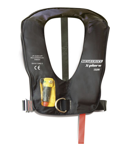 automatisch aufblasbare Rettungsweste / 150 N / 275 N / zur beruflichen Nutzung