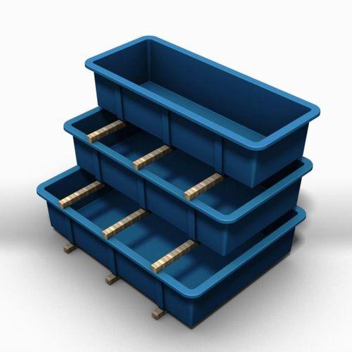 Zuchtbecken für Aquakultur / Für Schalentierzucht / rechteckig / Glasfaser