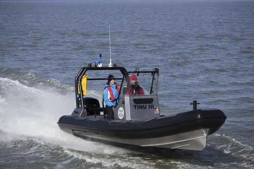 Außenborder-Schlauchboot