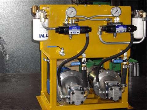 Hydraulikaggregat für Schiffe