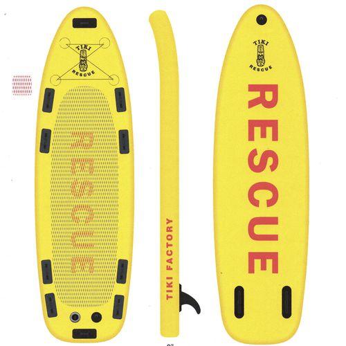 SUP für Rettungsmanöver