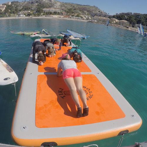 Plattform für Boot